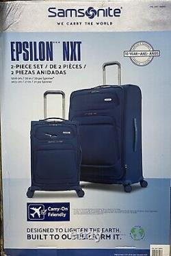Samsonite Epsilon Nxt 2 Pièces Softside Spinner Luggage Set 27 & 20 Carry On