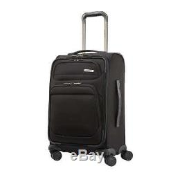 Samsonite Epsilon Nxt 2 Pièces Softside Spinner Luggage Set Noir