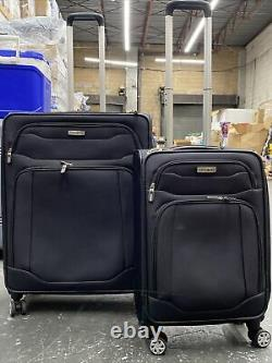 Samsonite Stack It Luggage Set Suitcase Spinner 25 & 22 Great Condition