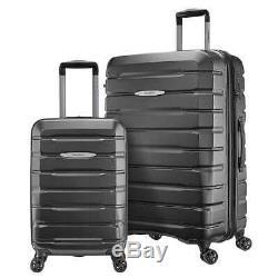 Samsonite Tech 2.0 2 Pièces 28 Et 21 Grey Hardside Luggage Set Bateau Libre Voyage