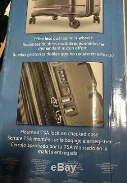 Samsonite Tech 2.0 2 Pièces Hardside Set Couleur Gris Ouvert Boîte Pdsf 189 $