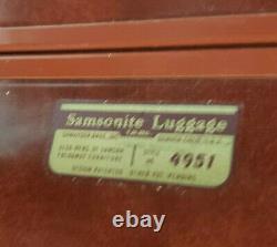 Samsonite Vintage Luggage Set Of 3 Shwayder Bros Denver, Co Excellent État