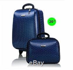 Set 2 Voyage Bagages 20 Et 14 2-pièces Avec Bagages Carryon