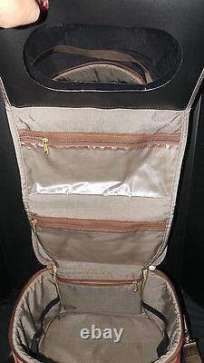 Showline Custom Carpet Travel Bags USA Red Gold Tapestry 5 Pièces Ensemble Vintage