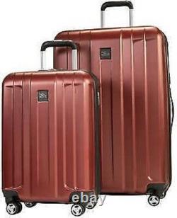 Skyway Whittier Piece Spinner Hardside Voyage Valise Luggage Set, Rouge