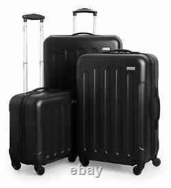Suitline Koffer-set Trolley-set Hartschalen-koffer Reisekoffer Tsa S M & L