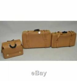 Swaine Adeney Brigg Luggage Set, La Main En Angleterre, Son Altesse Royale La Cour Royale, Cuir