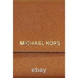 T.n.-o. Michael Kors Jet Set Téléphone Crossbody Messenger Gold Chain Bagage 32t4gtvc3l