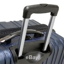 Tasmanie 100% En Polycarbonate Hardside Bagages Extensible À Roulettes Set Valise