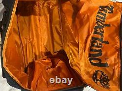 Timberland Highgate Springs Wheeled Travel Luggage Rolling Duffle Bag Set Bleu