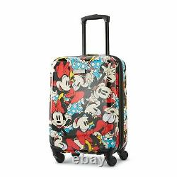 Tourister Américain Disney Roll À Bord De 2 Piece Luggage Set Minnie Mouse