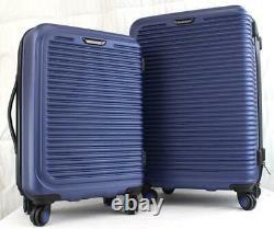 Travel Select Savannah 3 Piece Hardside Spinner Bagages Set Blue