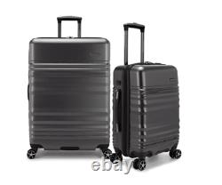 Traveler's Choice Pomona 2 Pièces 29'' Et 21'' Hardside Set External Usb'gray