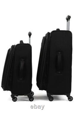 Travelpro Tourgo Léger Softside 2-piece 21/25 Ensemble De Bagages, Black New