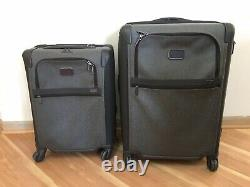 Tumi Alpha 2 Ensemble De 26 Et 22 Spinner Earl Grey Carry & Check Bagages Cas