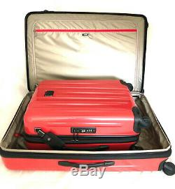 Tumi V3 Expandable Luggage Set Rose Long Voyage Et Carry On Continental