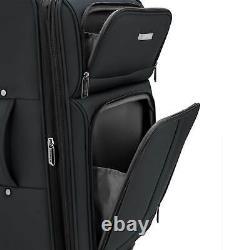 U. S. Traveler Anzio 2pc/3pc Ensemble De Bagages Extensibles De Spinner Léger