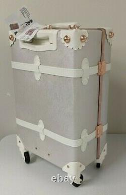 Urecity Élégant Bagages Jeux De 2 Pièces Nouveau, White Rose