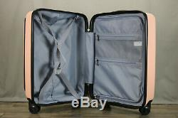 Valise Coolife Bagages Piece Set Carry On Abs + Pc Portable Spinner Chariot Avec P