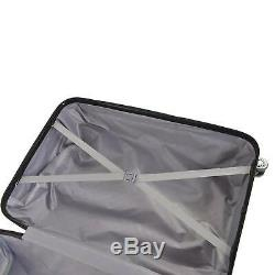 Valise Hard Shell Chariot 4 Roues Set De 3 Valises Lightweight Voyage Bagages