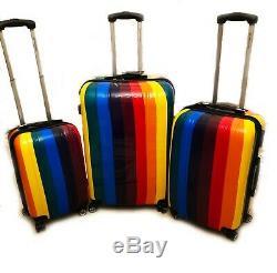 Valise Légère Bagages De Cabine Case Trolley Rigide Sac 4 Voyage Shell Ryanair