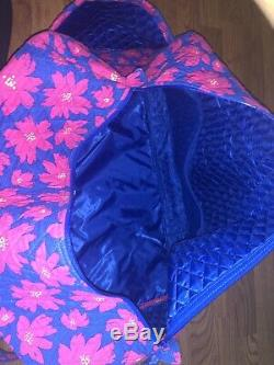 Vera Bradley Art Coquelicots Grand Duffel Bag Set + Cosmétique