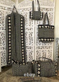 Vera Bradley-chanticleer 7 Piece Luggage/travel Set À La Retraite