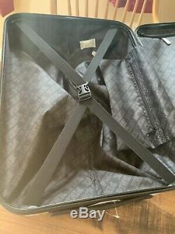 Victoria Secret Rose Hard Case Wheelie Luggage Set