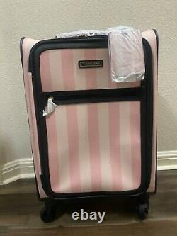 Victoria's Secret The Vs Getaway Carry-on Suitcase And Travel Tote Set