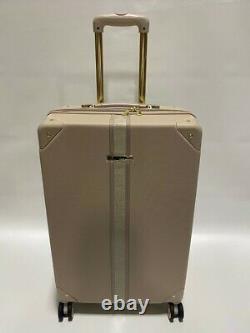Vince Camuto 28/24 Luggage Set Spinner Wheels Gold Studs Latte Msrp 700 $