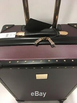 Vince Camuto Fig Jania De Luggage Set À Roulettes Multidirectionnelles Or Goujons Pdsf 1080 Nouveau