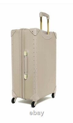 Vince Camuto Latte Jania 2-pcs Bagages Ensemble Spinner Wheels Gold Studs Pdsf 1080