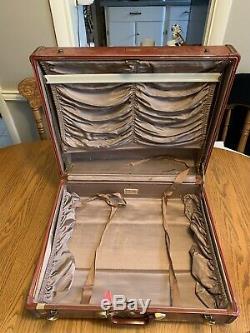 Vintage 1950 Samsonite Shwayder Brothers Jeu Complet Bagages Dur Side Valise