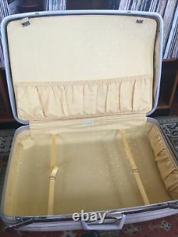 Vintage 1960 Est Samsonite Silhouette Hardside Bagage. Ensemble Complet De 5 Pc