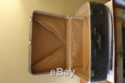 Vintage 3 Pièces Amelia Earhart Gris Tweed Luggage Set