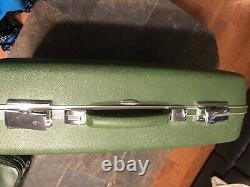 Vintage 3pc Sears Prévisions Sears Avocado Ensemble De Valises Écologiques 27x19 21x16