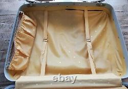 Vintage De 1960 Samsonite Silhouette Hardside Bagage Complet 3 Pc Set Includ