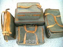 Vintage Hartmann 5 Pc. Voyage Luggage Set