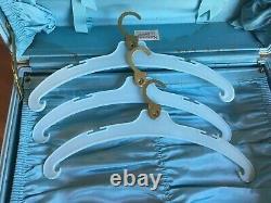 Vintage Samsonite Suitcase Set Robin Egg Blue Tweed Style 4251 Plus Keys