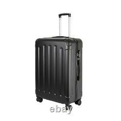 Vossbach Kofferset 3 Teilig Schwarz Reisekoffer Mit Rollen Koffer Set M L XL