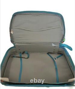 Vtg Bantam Travelware Suitcase Rare 3 Pc Set 60s 70's Floral Pattern Mod Boho