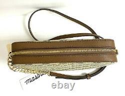 W Mk Michael Michael Kors Jet Set Item Large Crossbody Bag Naturel/bagages