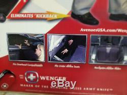 Wenger Patriot 2 Roues Piece Laptop Briefcase Voyage Set Affaires