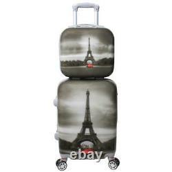 World Traveler 24dm6011 Destination Collection 2 Pièces Ensemble De Bagages Paris