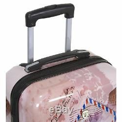 World Traveler Paris Collection 3 Pièces Hardside Spinner Luggage Set